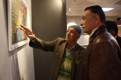 نمایشگاه نقاشی «روزنه هنر» شامل آثار خودآموخته