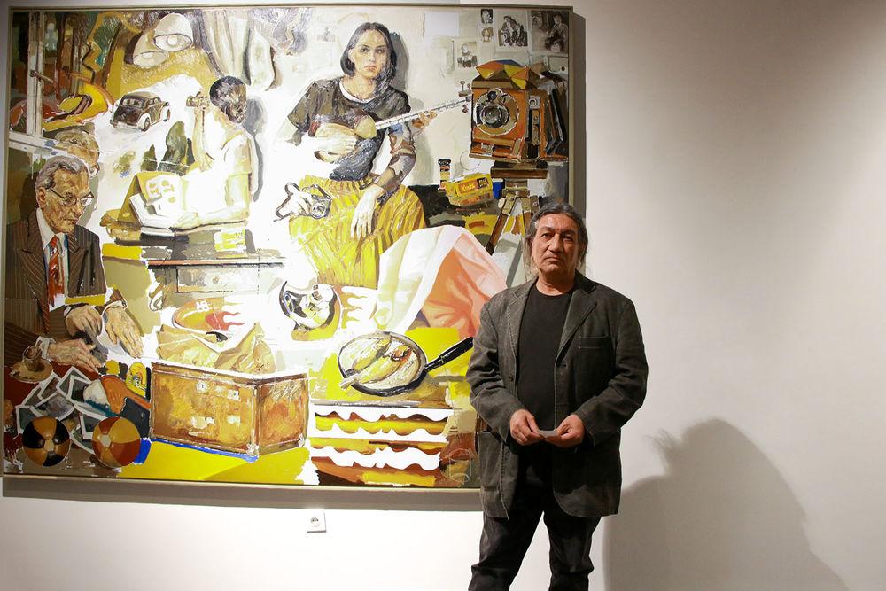 نمایشگاه آثار نقاشی داوود زندیان