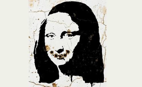 «لبخند تلخ مونالیزا» اثر حمیدرضا شکارسری